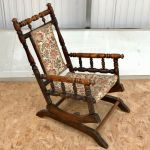 Antique American Style Childs Rocking Chair