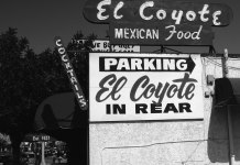 El Coyote Cafe is a Mexican restaurant in Los Angeles that has been in business for over eighty years.