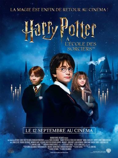 Affiche du film Harry Potter à l'école des sorciers - 1