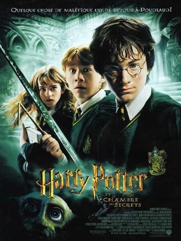 Affiche du film Harry Potter et la chambre des secrets - 2