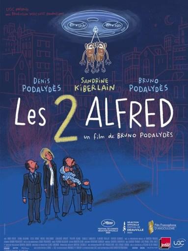 Affiche du film Les 2 Alfred