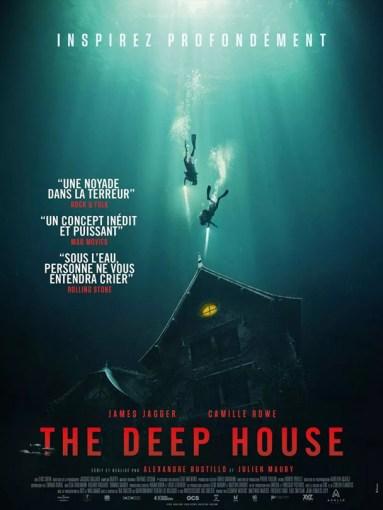 Affiche du film The deep house