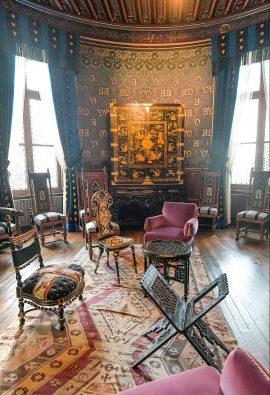 Chambre de la femme d'antoine d'abbadia au chateau d'abbadia