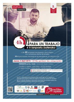 2019ko afitxa Gaztelaniaz-euskaraz