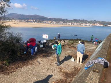 nettoyage des plages 2021 - Txingudi 3