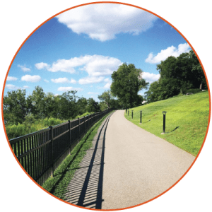 The Henderson River Walk is a pet friendly spot for dog walkers.