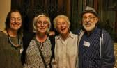 Old friends meet again: Anri Barris, Laura Raysman, Janice Mentz and Herschel Raysman | photo credit: Ken Barris