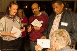 Book signing: Louise Coetzer, Jaywant Parbhoo and Redewan Larney | photo credit: Oscar O'Ryan