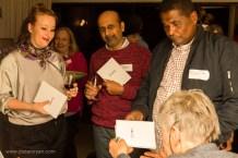 Book signing: Louise Coetzer, Jaywant Parbhoo and Redewan Larney | photo credit: Oscar O'Ryan