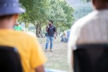 Donovan Julius, one of the organisers of the Suurbraak protest and chairperson of the Suurbraak Youth Movement,