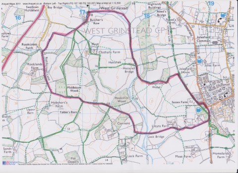 The Partridge Route