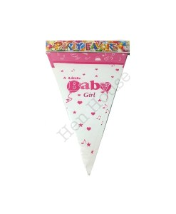 A Little Baby Girl Bunting