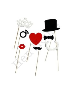 Bachelorette Party Photobooth Props