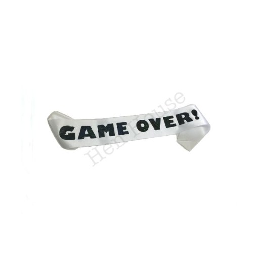 Game Over Sash