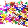 Colorful Wine Glass Shaped Confetti