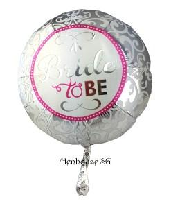 Elegant Bride to Be Balloon