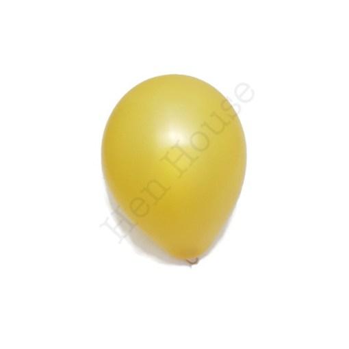 Gold Latex Balloon