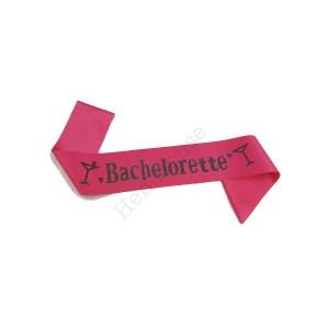 Bachelorette Hot Pink Sash