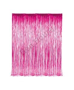 Pink Foil Curtain