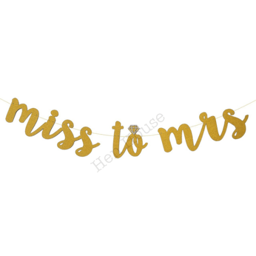 Miss to Mrs Banner