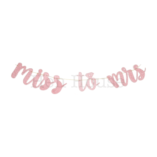 Miss to Mrs Banner (Rose Gold)