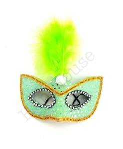 Green Masquerade Mask