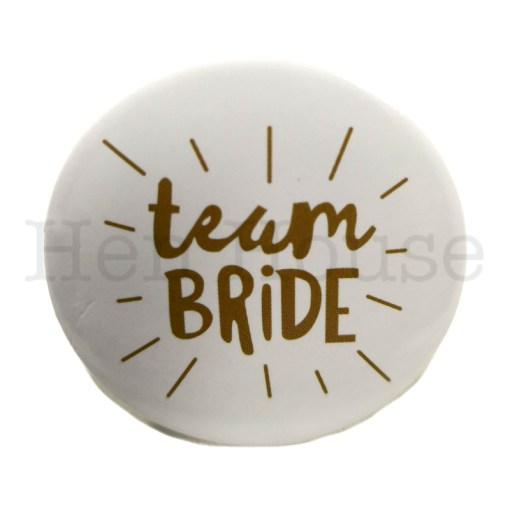 Team Bride Badge