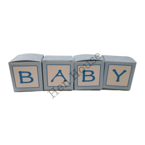 Baby Boy Favor Boxes
