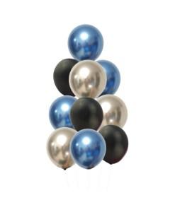 Blue Silver Black Bouquet