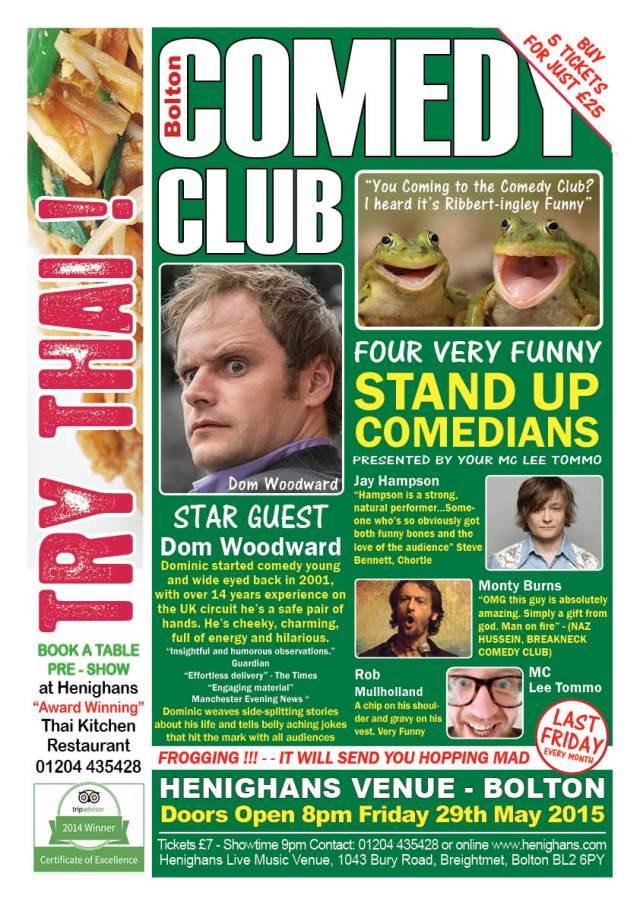 Comedy Night A3