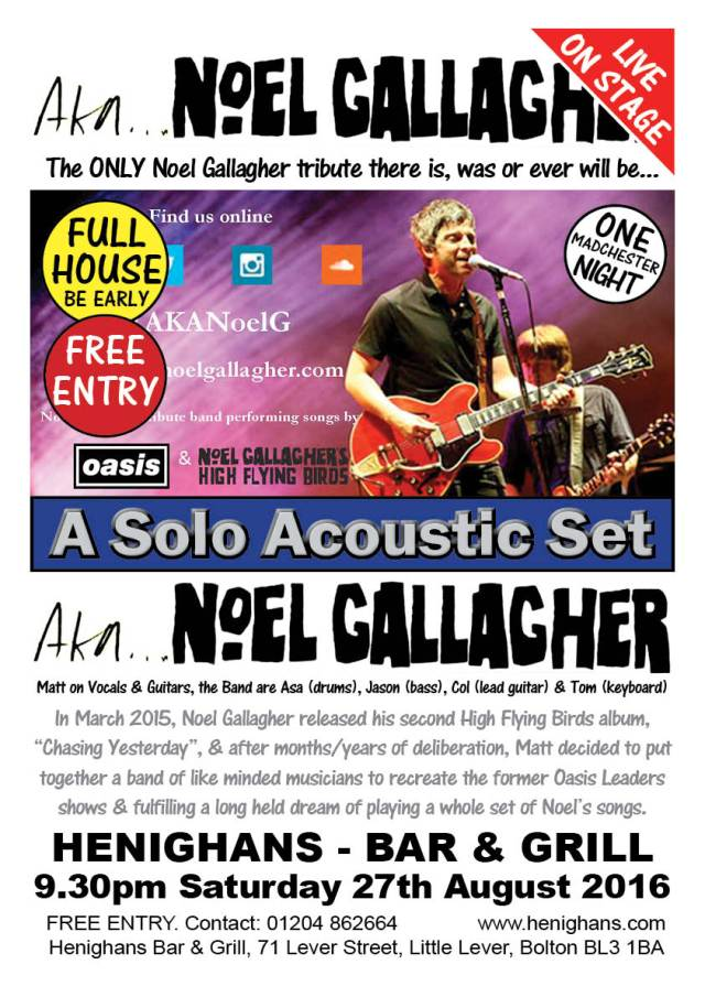 aka Noel Gallagher Promo