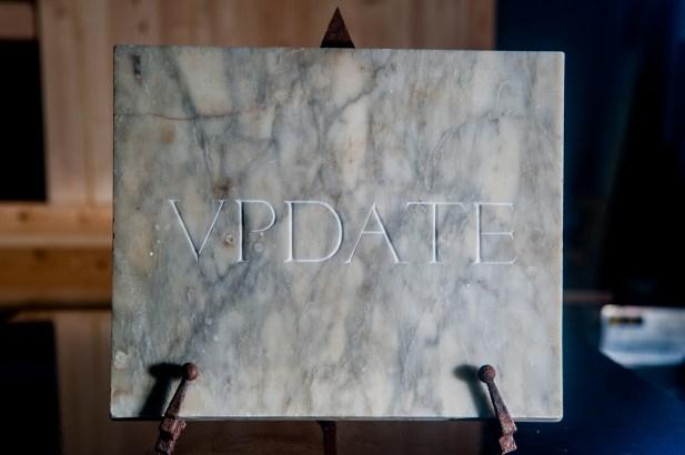marmo di Carrara e ferro (40x30x2 cm)