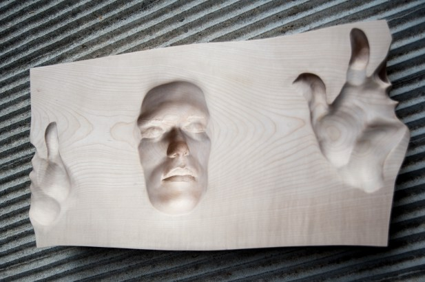 legno d'acero (60x30x10 cm)