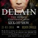 Concertverslag Kingfisher Sky, Stream of Passion en Delain in Hedon Zwolle