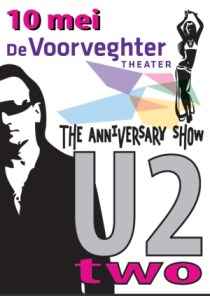 flyer u2two anniversary tour
