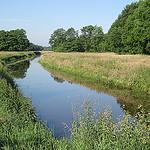 Loop van het Oude Diep tussen Westerbork, Orvelte en Witteveen