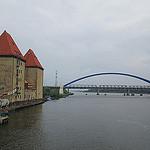 Steden en dorpen op en rond Pools eiland Wolin in West-Pommeren