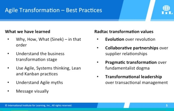 agile adoption best practices