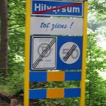 Wandelen buiten de binnenstad van Hilversum