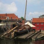 Wandelen over Zuiderzeepad tussen Naarden en Nijkerk