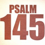 Psalm 145: God is koning, daarom zing ik