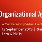 PMI Organizational Agility Conference 2019