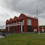 Het Pronkjewailpad tussen Bad Nieuweschans en Delfzijl