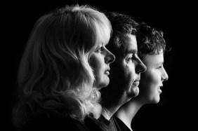 groepsfoto, familiefoto, zwart/wit