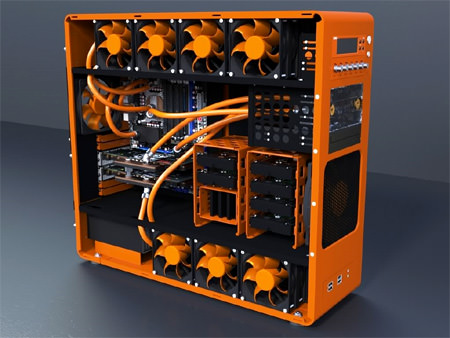 Which includes Watercooling, LED lighting and much more ...