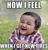 new tire kid