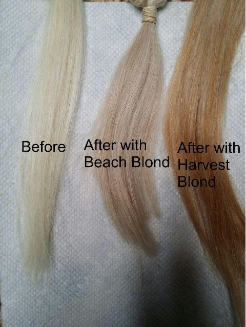 New Natural Blond Harvest Moon