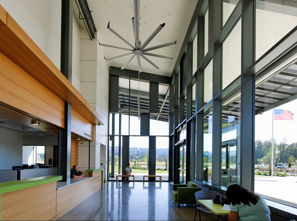 PCC Newberg Center Academic Sustainable Architecture