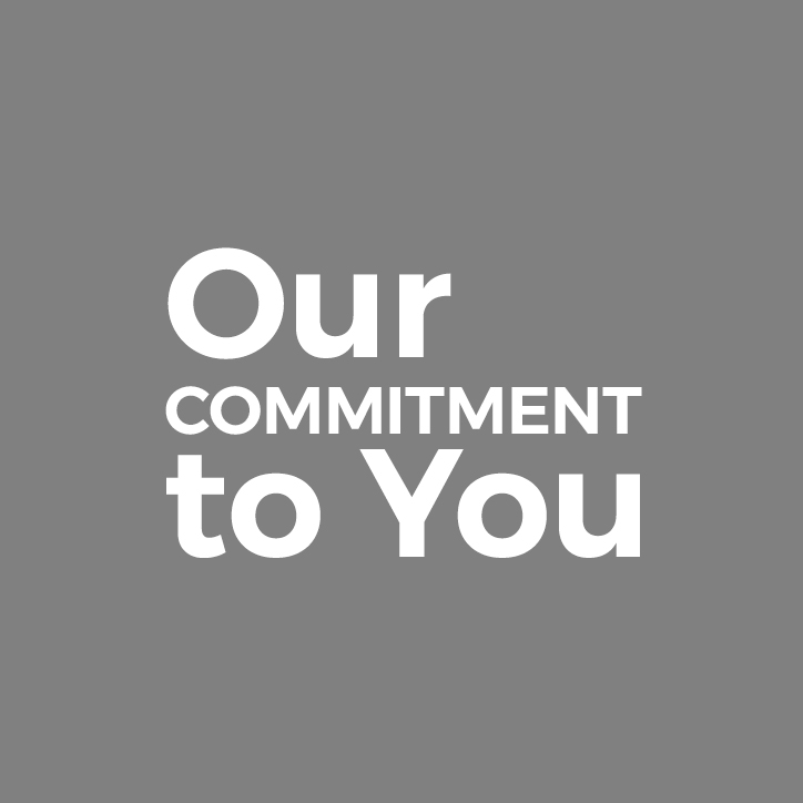 Our Commitment To You Image