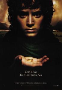 01 Teaser 1 Frodo Baggins 1 8 March 2001 207x300 Властелин Колец   галерея плакатов